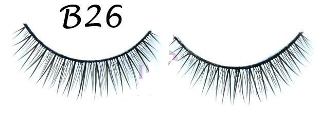 Two Layered Crisscross Tipped False Eyelash #B26